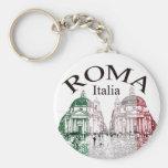 Roma selló llaveros personalizados