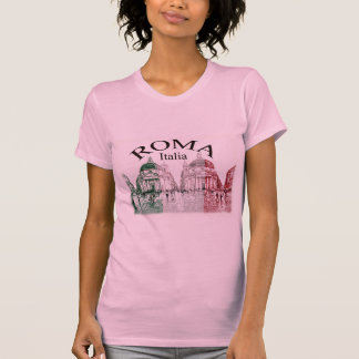 Roma selló camisetas