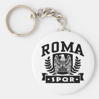 Roma SPQR Keychain