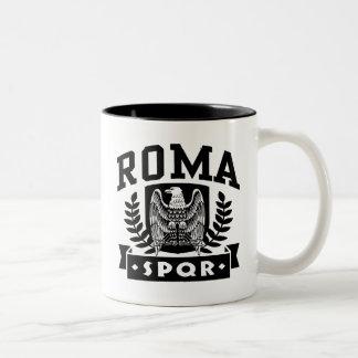 Roma SPQR Two-Tone Coffee Mug