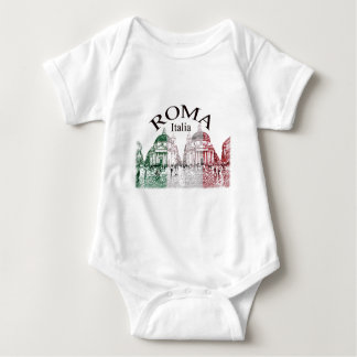 Roma Stamped Baby Bodysuit