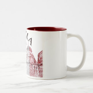 Roma Stamped Coffee Mug