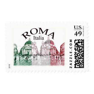 Roma Stamped Postage Stamps