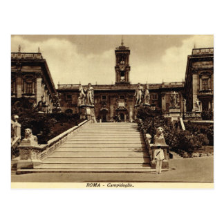 Roma,Steps to Campodoglio Postcard