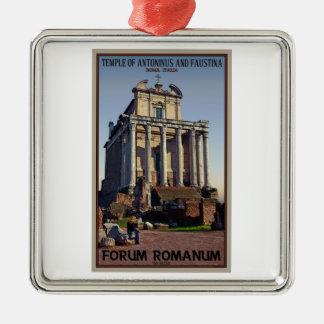 Roma - templo de Antoninus y de Faustina Ornamento Para Reyes Magos