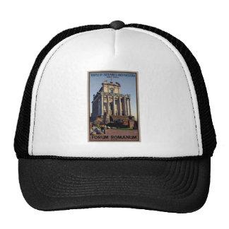 Roma - templo de Antoninus y de Faustina Gorros Bordados