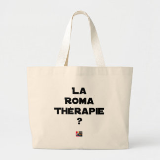 Roma Therapy - Word games - François City Large Tote Bag