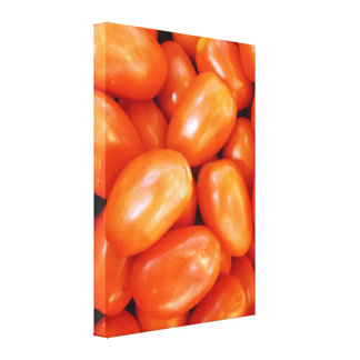 Roma Tomatoes Photo Canvas