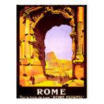 """Roma, tren de """"Roma de lujo del le del par expresa Postal"""