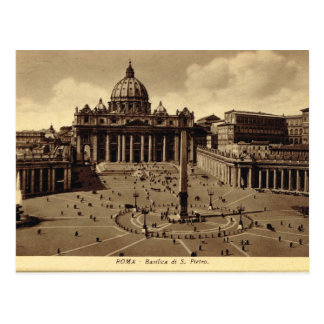 Roma, Vatican, el cuadrado de San Pedro Tarjetas Postales