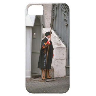 Roma, Vatican, guardia suizo Funda Para iPhone 5 Barely There