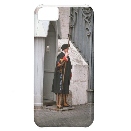 Roma, Vatican, guardia suizo Funda Para iPhone 5C