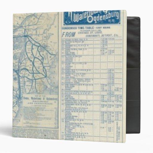 Roma, Watertown y ferrocarril de Ogdensburg