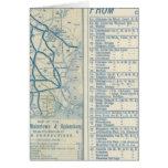 Roma, Watertown y ferrocarril de Ogdensburg Tarjeta