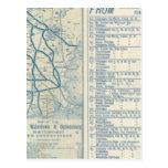 Roma, Watertown y ferrocarril de Ogdensburg Postales