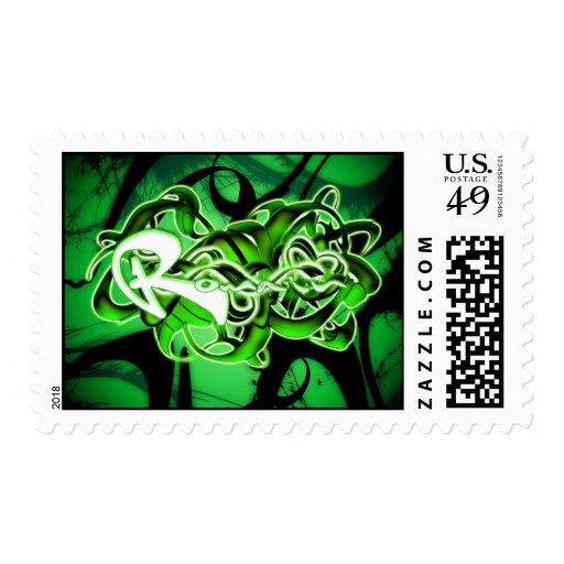 Romain Postage Stamp