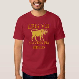 Roman 7th Legion (Claudia) Tees