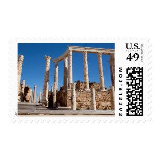 Roman Amphitheater, Leptis Magna, Al Khums Postage