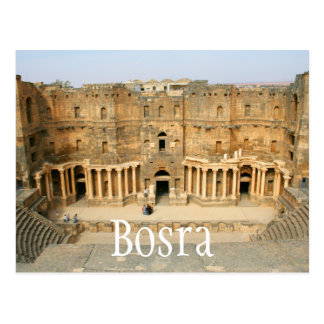 Roman Amphitheatre, Bosra, Syria Postcard