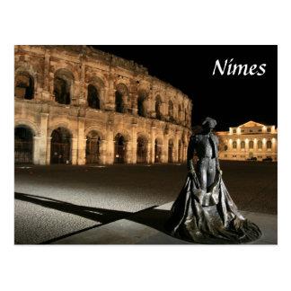 Roman Amphitheatre Nimes Postcard