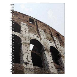 Roman amphitheatre notebook