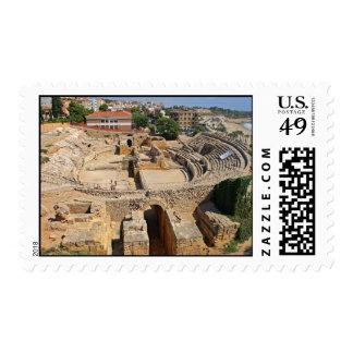Roman amphitheatre postage
