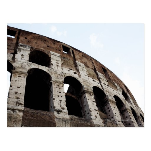 Roman amphitheatre postcard
