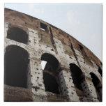 Roman amphitheatre tile