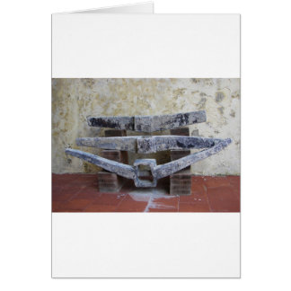 Roman Anchors Card