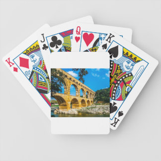 Roman Aquedct Bicycle Playing Cards