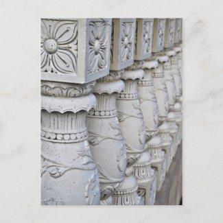 Roman Architectural Columns postcard