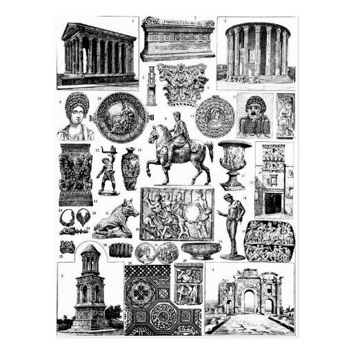 Roman Art Post Card
