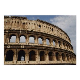 Roman Art. The Colosseum or Flavian 2 Poster