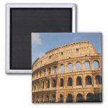Roman Art. The Colosseum or Flavian 3 2 Inch Square Magnet