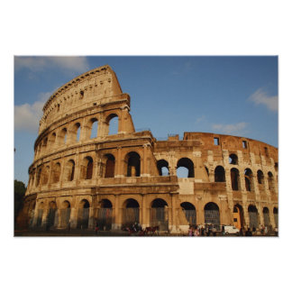 Roman Art. The Colosseum or Flavian 3 Poster