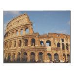 Roman Art. The Colosseum or Flavian 3 Wood Print