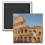 Roman Art. The Colosseum or Flavian 4 2 Inch Square Magnet