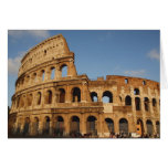 Roman Art. The Colosseum or Flavian 4 Greeting Card