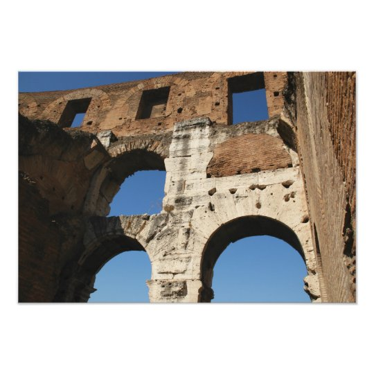 Roman Art. The Colosseum or Flavian 4 Photo Print