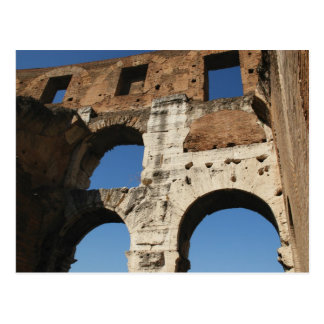 Roman Art. The Colosseum or Flavian 5 Postcard