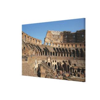Roman Art. The Colosseum or Flavian 6 Canvas Print