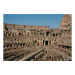 Roman Art. The Colosseum or Flavian 6 Poster