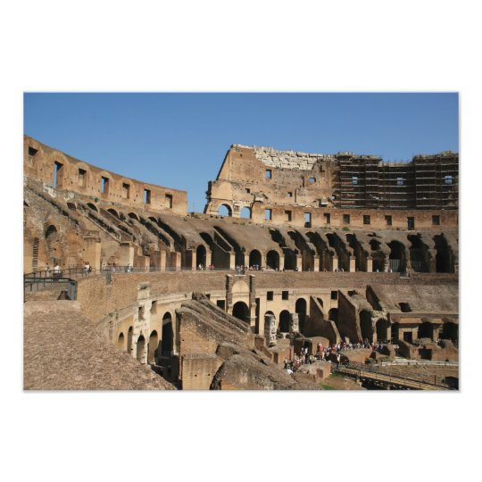 Roman Art. The Colosseum or Flavian 7 Photo Print