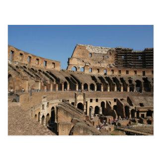 Roman Art. The Colosseum or Flavian 7 Postcard