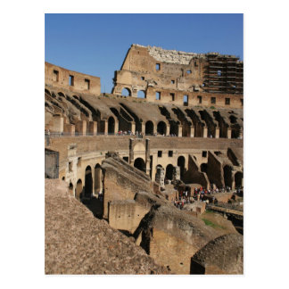 Roman Art. The Colosseum or Flavian Postcard
