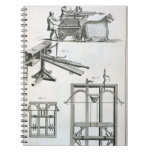 Roman Ballistic Machinery, from the 'Encyclopedie Spiral Notebooks