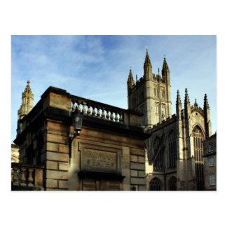 Roman Bath, England Postcard