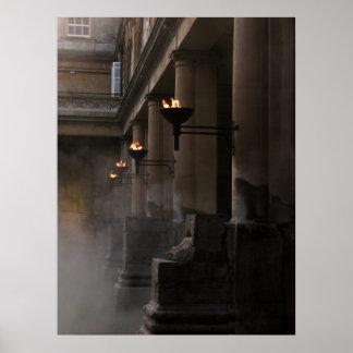 Roman Bath Posters