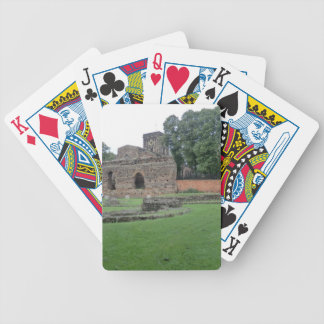 Roman Bathhouse in Leicester, England Bicycle Playing Cards