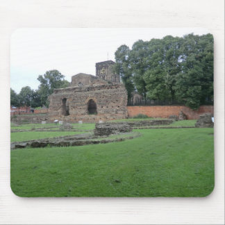 Roman Bathhouse in Leicester, England Mouse Pad